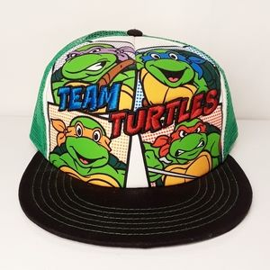 "Teenage Mutant Ninja Turtles ""Team Turtle"" Cap NWT"